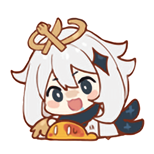 Genshin Impact 原神 表情包 1 分享 - Sticker 2