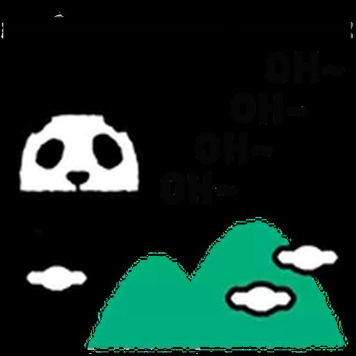1600 Pandas - Sticker 3