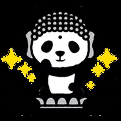 1600 Pandas - Sticker 16