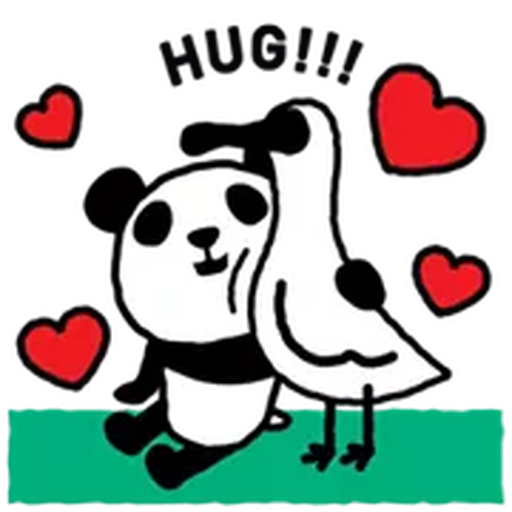 1600 Pandas - Sticker 7