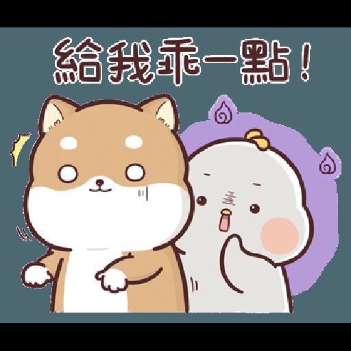 Shiba Inu PIPI's life-Valentine's day by Liz - 1 - Sticker 8