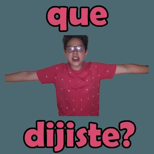 EL DEMENTE  - Sticker 25