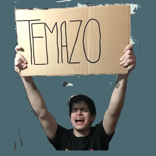 EL DEMENTE  - Sticker 27