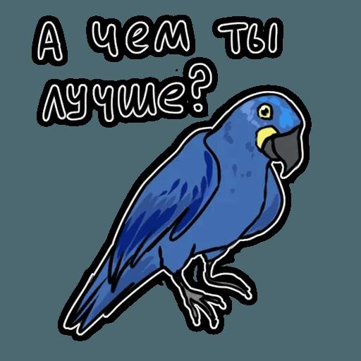 Попугаи - Sticker 14