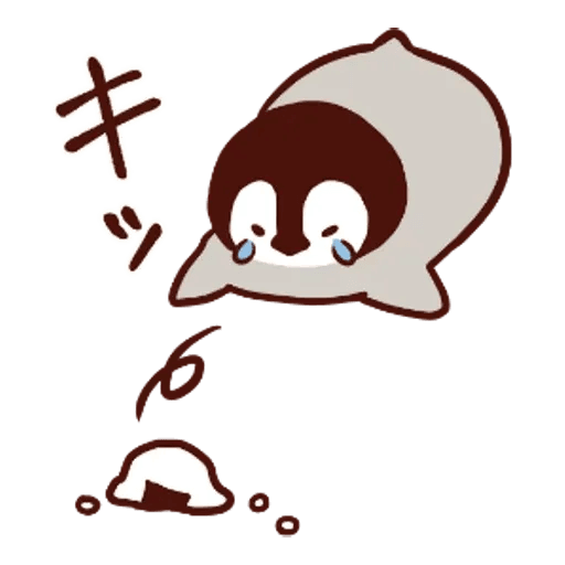 Penguin and Cat : Warm and Cuddly - Sticker 4