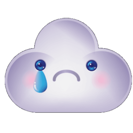 Cloud Weather - Sticker 18