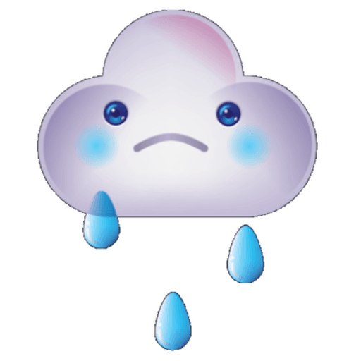 Cloud Weather - Sticker 23