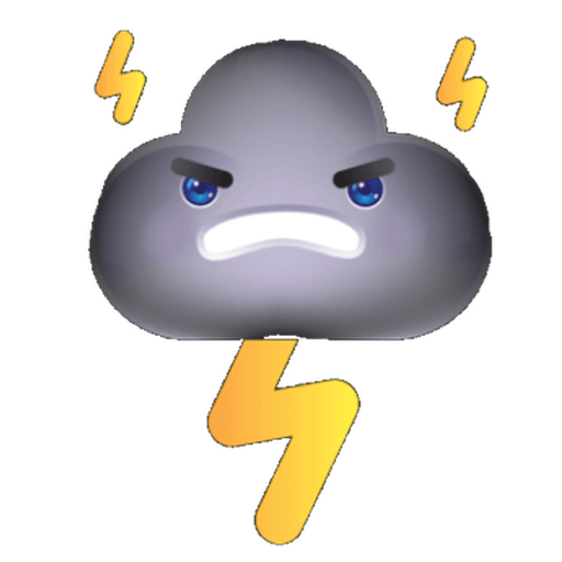 Cloud Weather - Sticker 21