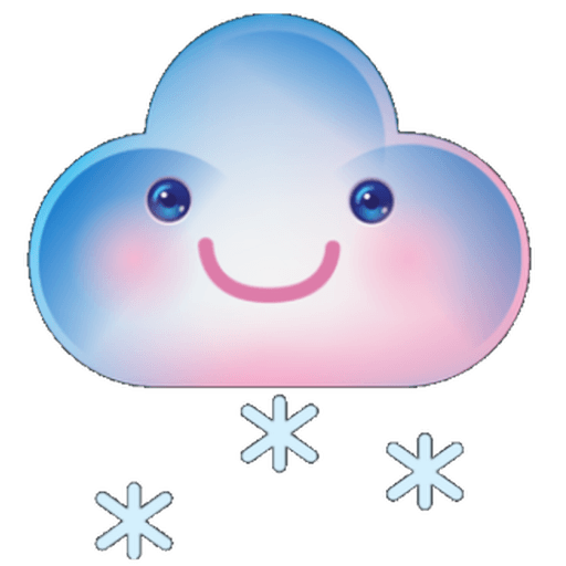 Cloud Weather - Sticker 11