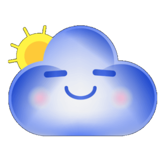 Cloud Weather - Sticker 16