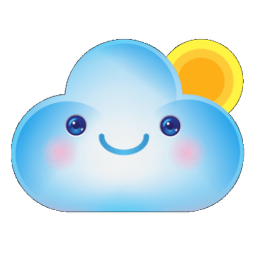 Cloud Weather - Sticker 9