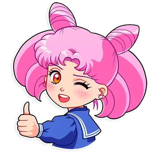 Sailor Moon - Sticker 2