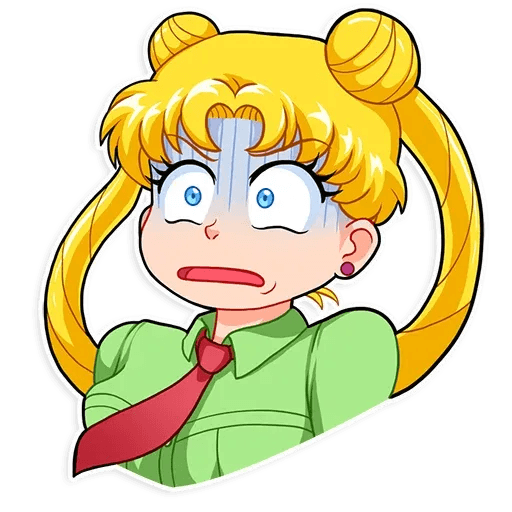 Sailor Moon - Sticker 3