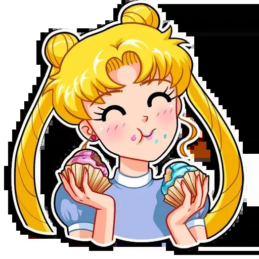 Sailor Moon - Sticker 20