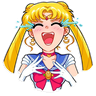 Sailor Moon - Tray Sticker