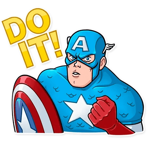 60's Captain America - Sticker 18