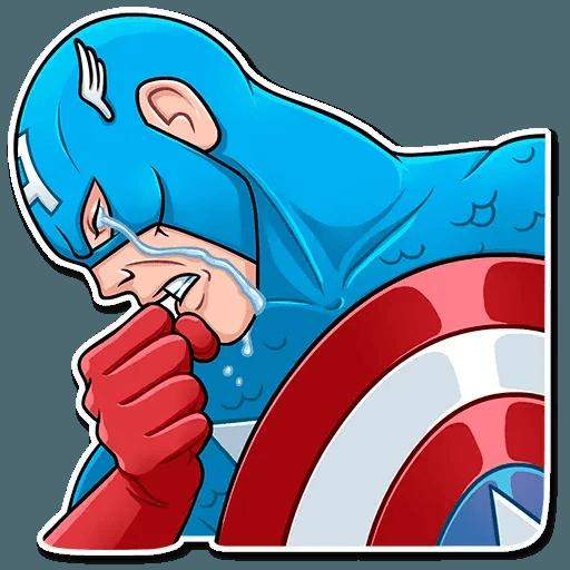 60's Captain America - Sticker 6