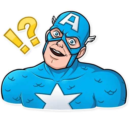 60's Captain America - Sticker 11