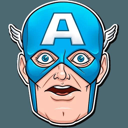 60's Captain America - Sticker 13