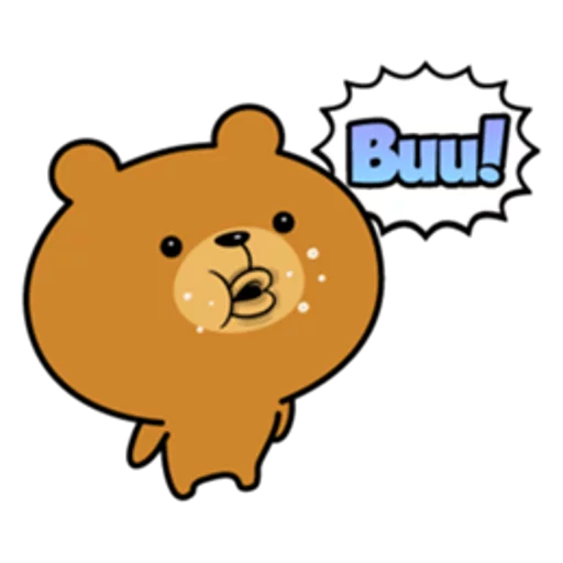 Bear bear - Sticker 24