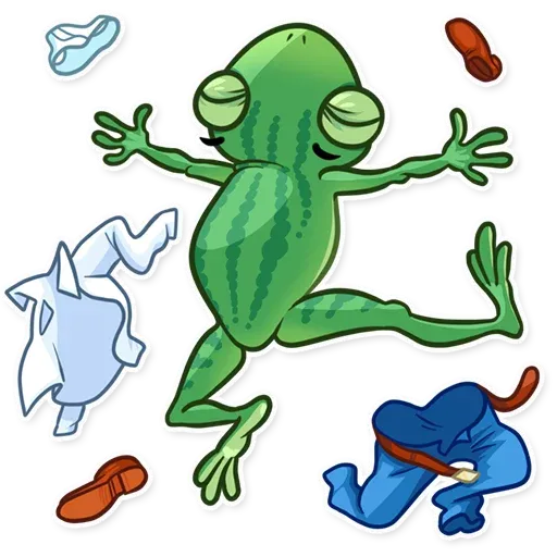 Banker Frog - Sticker 19