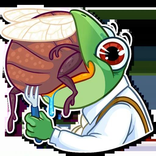 Banker Frog - Sticker 22