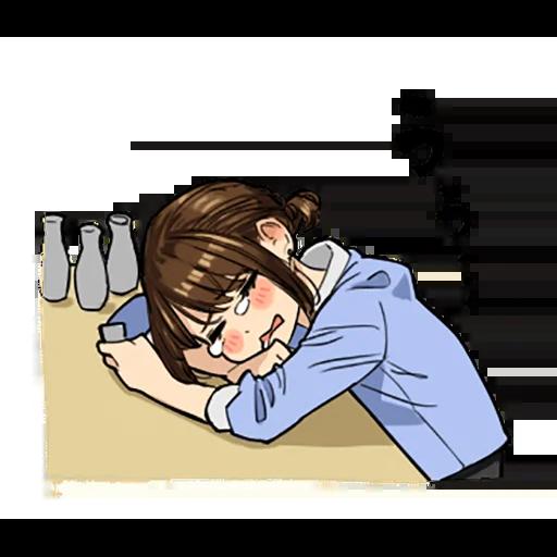 がんばれ同期ちゃん - Sticker 12