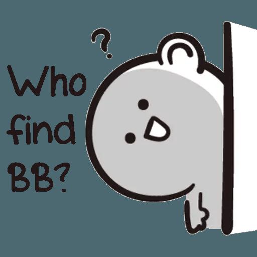 Bb never tell - Sticker 24