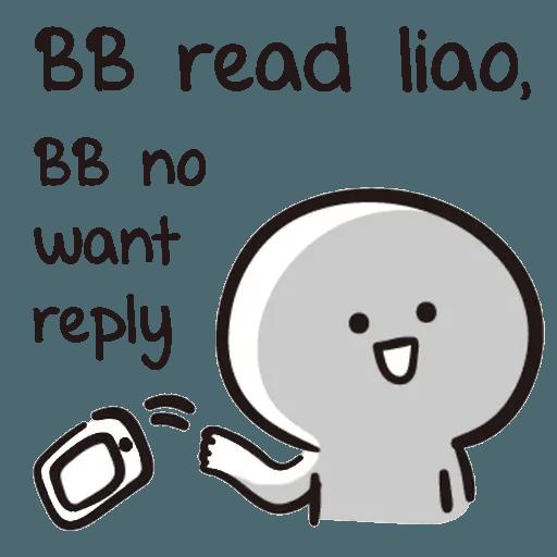 Bb never tell - Sticker 7