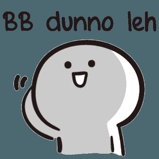 Bb never tell - Sticker 13