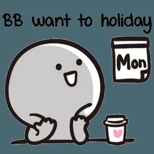 Bb never tell - Sticker 29