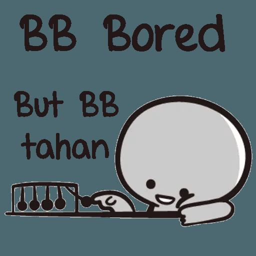 Bb never tell - Sticker 21