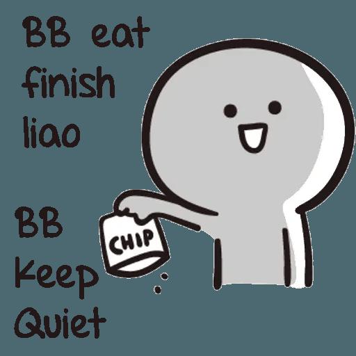 Bb never tell - Sticker 5
