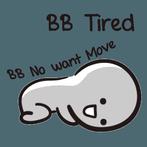 Bb never tell - Sticker 2