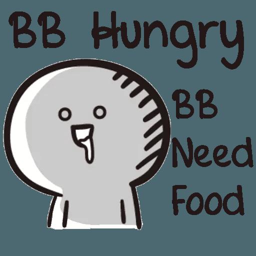 Bb never tell - Sticker 3
