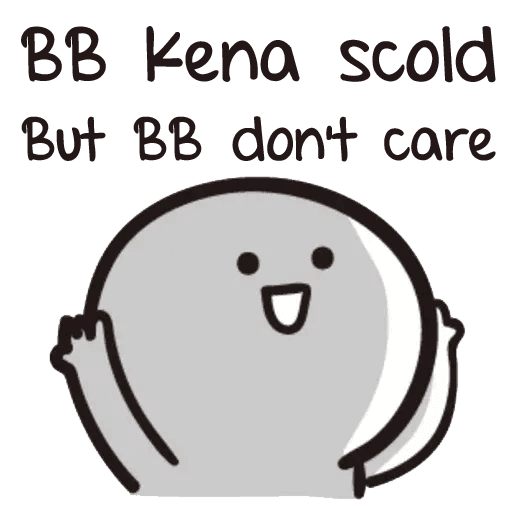 Bb never tell - Sticker 9