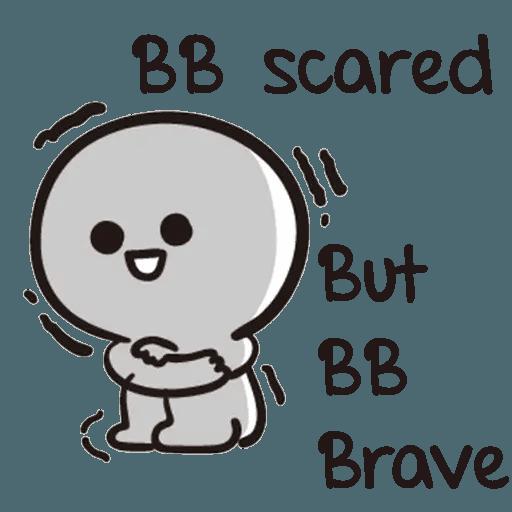 Bb never tell - Sticker 16