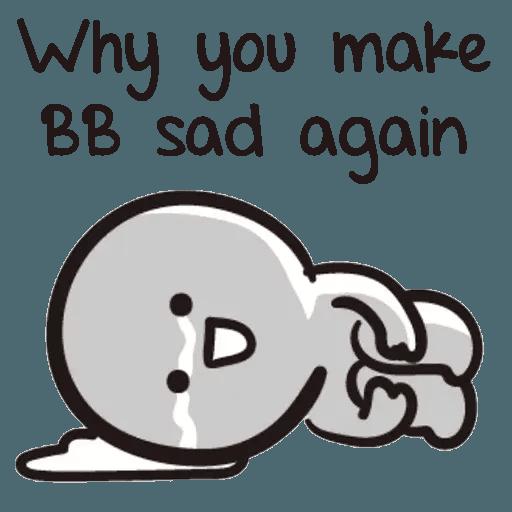 Bb never tell - Sticker 17