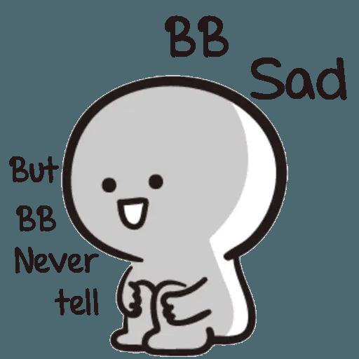 Bb never tell - Sticker 25