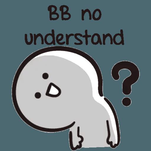 Bb never tell - Sticker 11