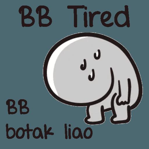 Bb never tell - Sticker 15
