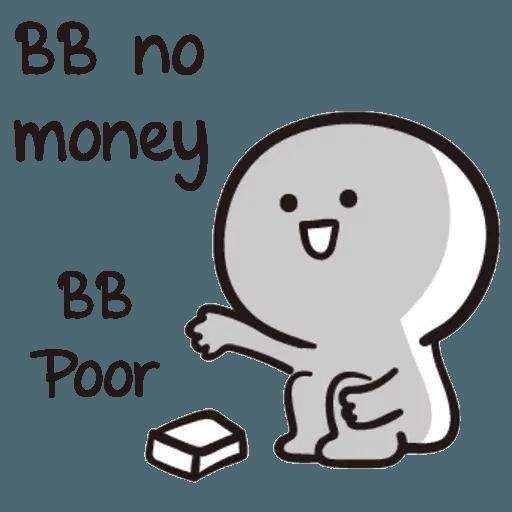Bb never tell - Sticker 20