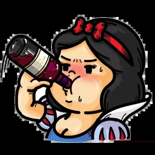靚靚公主系列 - Sticker 3