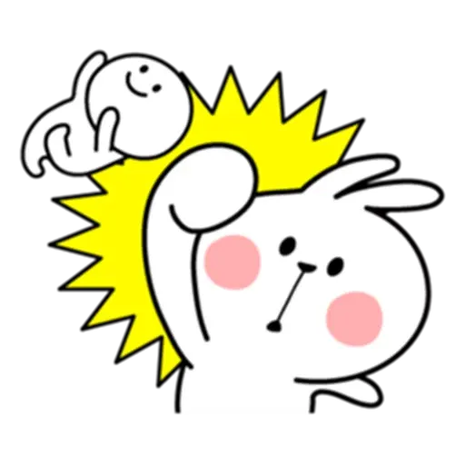 Rabbitsss - Sticker 2