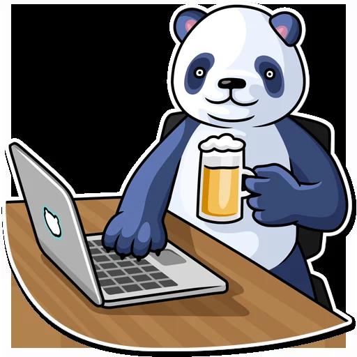 Panda - Sticker 22