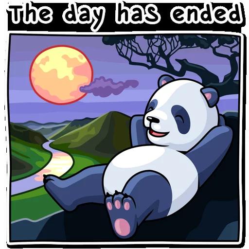 Panda - Sticker 30