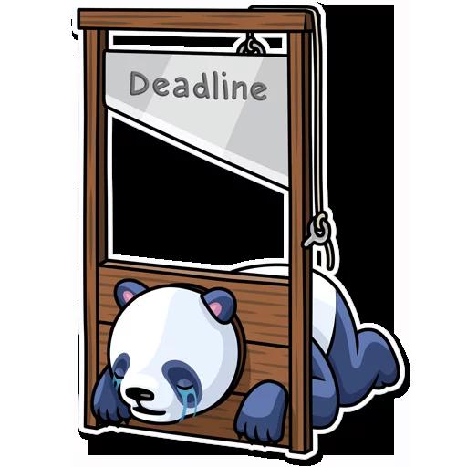 Panda - Sticker 25
