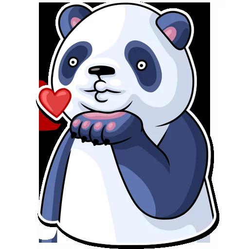 Panda - Sticker 2
