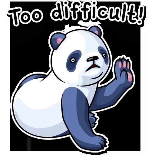 Panda - Sticker 21