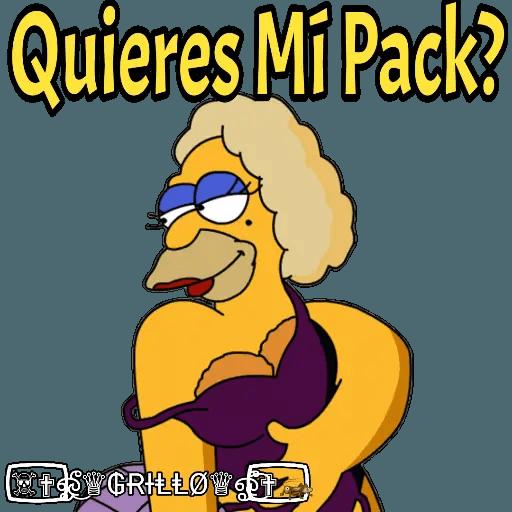 Abuelo Simpson - Sticker 22